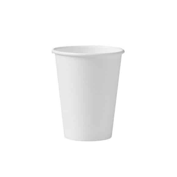 Sachet x 50 gobelets carton blanc Ø90mm 13oz/449ml