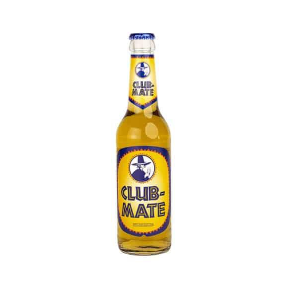Club-Mate boisson pétillante au mate bouteille verre 24x330ml