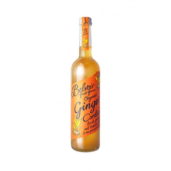 BELVOIR Sirop pour Ginger Beer bouteille verre 500ml BIO