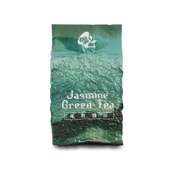 Lot de 10 thés vert au jasmin vrac 600g