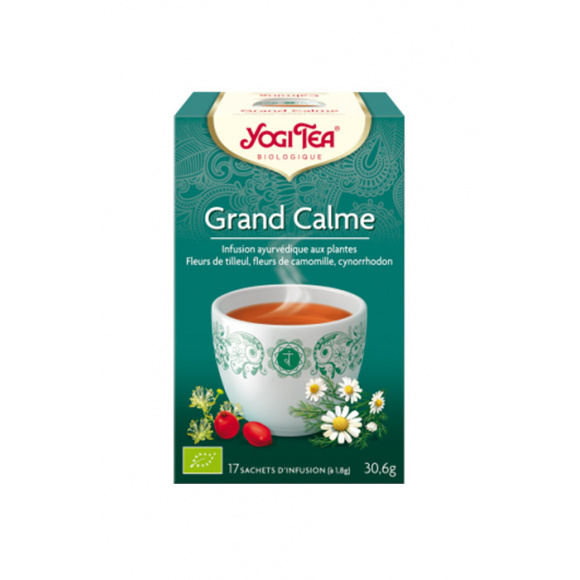 YOGI TEA® Grand calme sachet 17 x 2g BIO