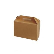 Sachet x 25 Lunch Box kraft Grand Modèle