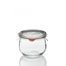 Weck pot en verre COROLLES 580ml ø100mm x6