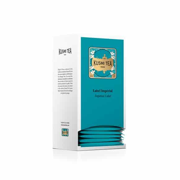 KUSMI TEA Thé vert Label Imperial 25X2g