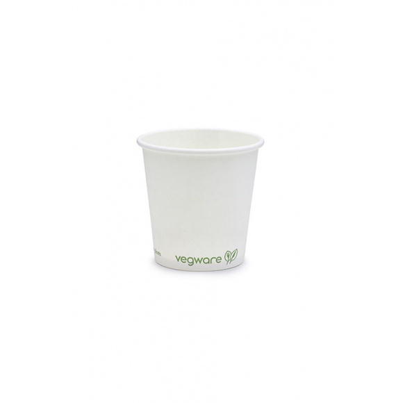 Sachet x 50 gobelets carton blanc 4oz/120ml BIO