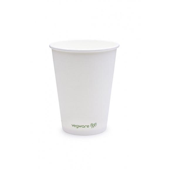 Sachet x 50 gobelets carton blanc 12oz/355ml BIO