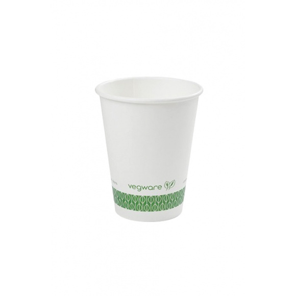 Sachet x 50 gobelets carton blanc 8oz/237ml BIO