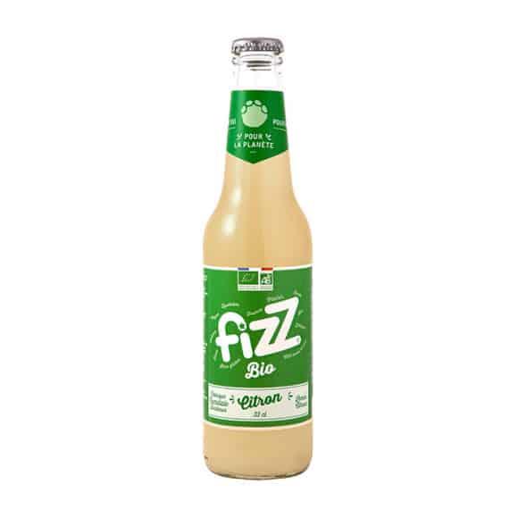 soda citron BIO bouteille verre 12 x 330ml