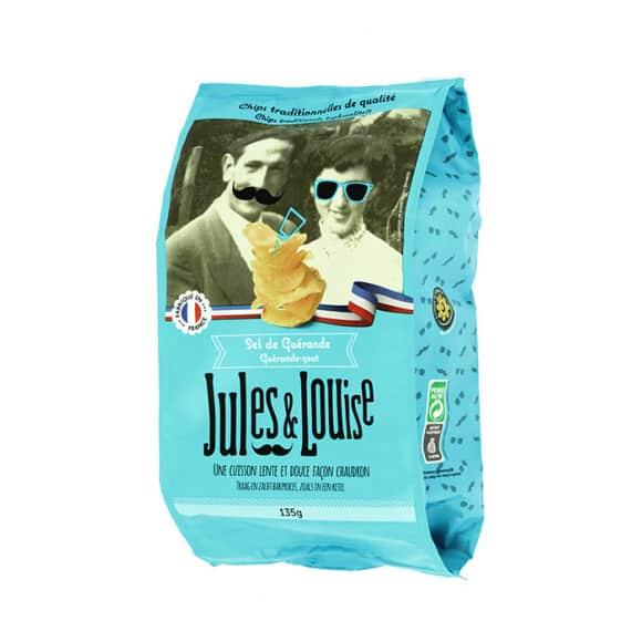 Jules & Louise Chips françaises sel de Guérande 12x135g