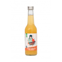 Simone a soif Eau fruitée Pomme Geranium bouteille verre 12x330ml BIO
