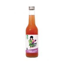 Simone a soif Eau fruitée Rhubarbe Lavande bouteille verre 12x330ml BIO