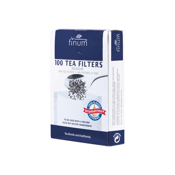 Filtres en papier pour thé vrac x 100