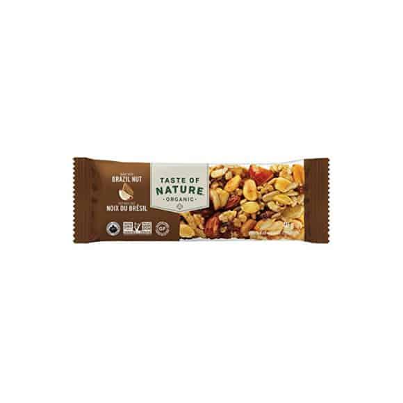 Présentoir barre de céréales Bazilian Nut 16 x 40g BIO