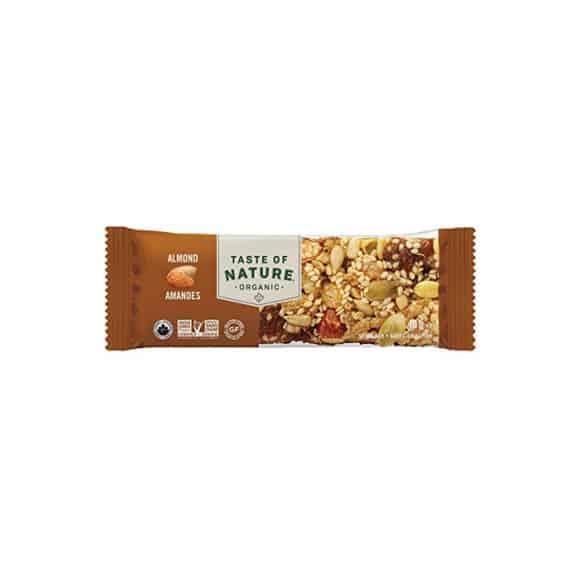 Présentoir barre de céréales Almond 16 x 40g BIO