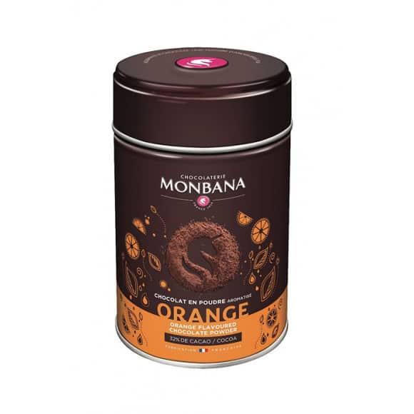 Lot de 6 Chocolats en poudre saveur Orange boîte 250g