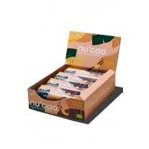 NUCAO chocolat Noix de Cajou Vanille et graines présentoir 12x40g BIO