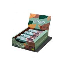 NUCAO chocolat Noisettes grillées et graines présentoir 12x40g BIO
