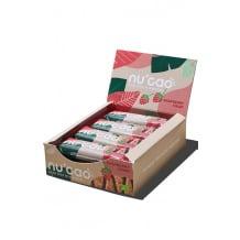 NUCAO chocolat blanc Framboise et graines présentoir 12x40g BIO