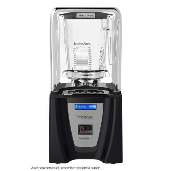 BLENDTEC Blender Connoisseur 825 + 2 jarres Fourside 1,89L + caisson phonique