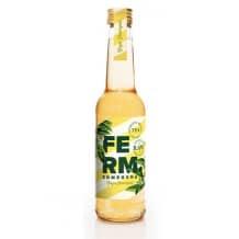 FERM Thé Kombucha Citronnelle Gingembre bouteille verre 12x275ml BIO