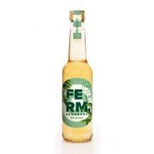 FERM Thé Kombucha Menthe Lavande bouteille verre 12x275ml BIO