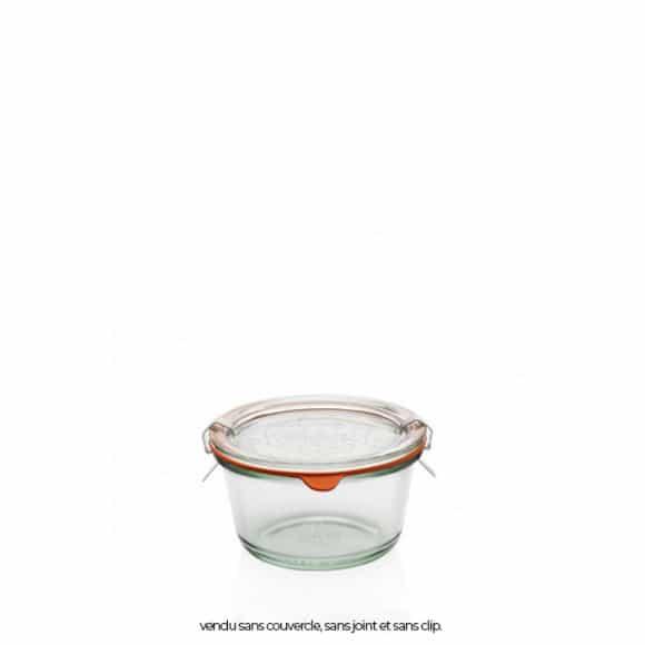 Weck pot en verre 290ml Ø100mm x6