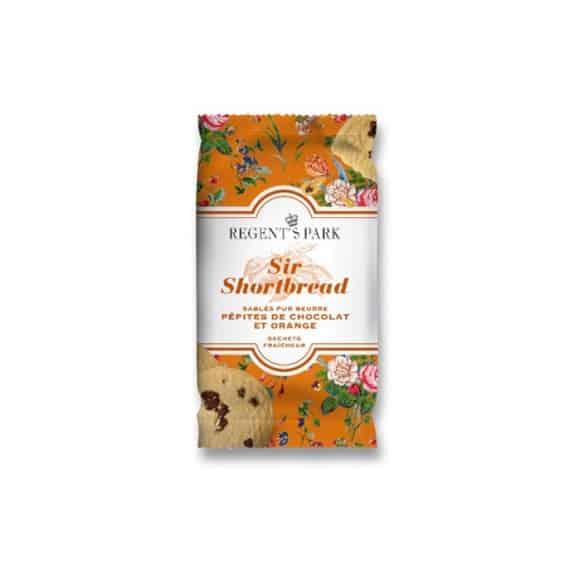 Présentoir Shortbread chocolat et orange 18 x 30g
