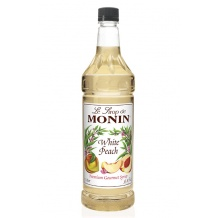 Sirop Pêche Blanche bouteille PET 1L
