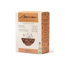 SOURCES Granola chocolat noir et noisettes boîte 350g BIO