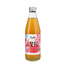 TEALÉLÉ Yerba Maté Framboise bouteille verre 12 x 330ml BIO