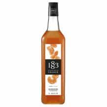 Lot de 6 Sirops Mandarine bouteille verre 1L