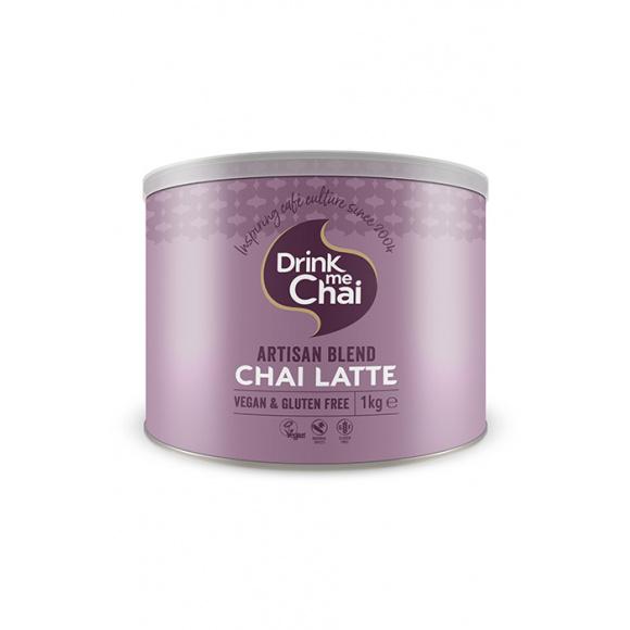 Lot de 4 Chai Latte Spiced en poudre sans produits laitiers boîte 1kg