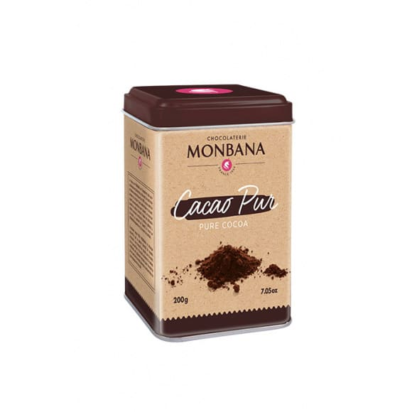 Lot de 6 Cacao Pur boîte 200g