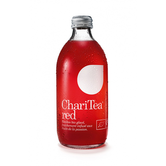 Infusion rooibos bouteille verre 12 x 330ml