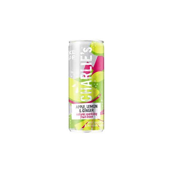 Soda pétillant naturel Pomme Citron Gingembre canette 12 x 250ml