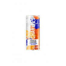 Soda pétillant naturel Orange Mandarine Menthe canette 12 x 250ml