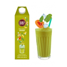 One & Only Smoothie Green fruits et légumes 1L