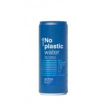 No Plastic Water eau minérale plate canette 24x330ml