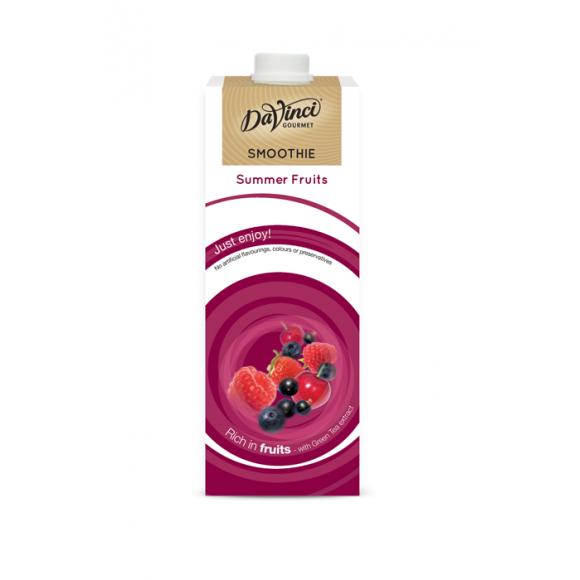 Da Vinci Smoothie Fruits rouges tetrapak 1L DDM 30/07/21