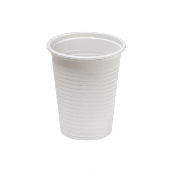 Gobelet jetable plastique blanc 100ml x 4800