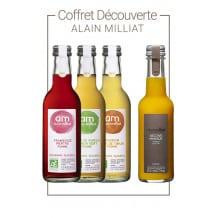 Alain Milliat - Coffret échantillons 4 bouteilles verre