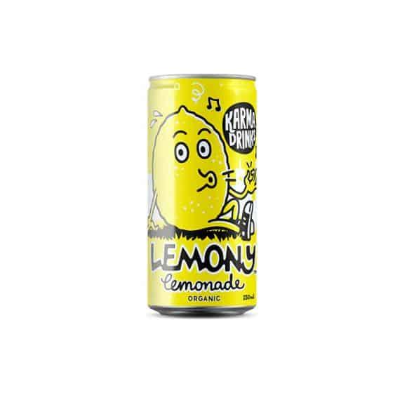 Karma Drinks Limonade Citron canette 24 x 250ml BIO