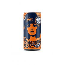 Karma Drinks Soda Gingembre canette 24 x 250ml BIO