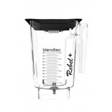 BLENDTEC Jarre REBEL + Wildside+ 2,83L transparente