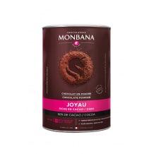 MONBANA - Le Joyau Chocolat en poudre 65% cacao Boîte 800g