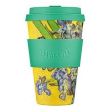 ECOFFEE CUP - Gobelet Bambou Van Gogh Irises 1890 14oz/400ml