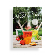 PLV - 2021 POSTER BUBBLE TEA FRUIT/LAIT A2 x1