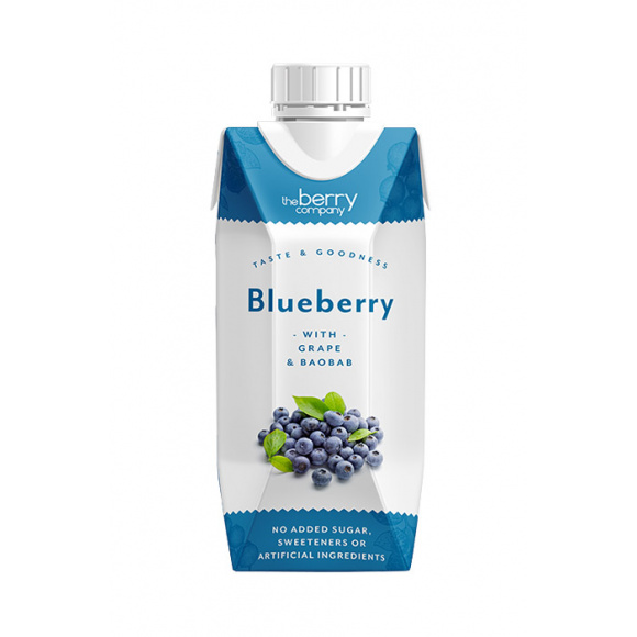 THE BERRY COMPANY - BLUEBERRY 330ML x12