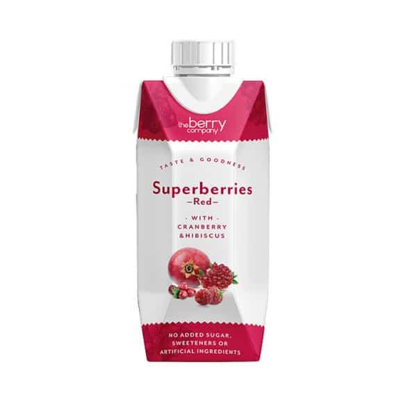berry company superberries red tetra pak 330ml