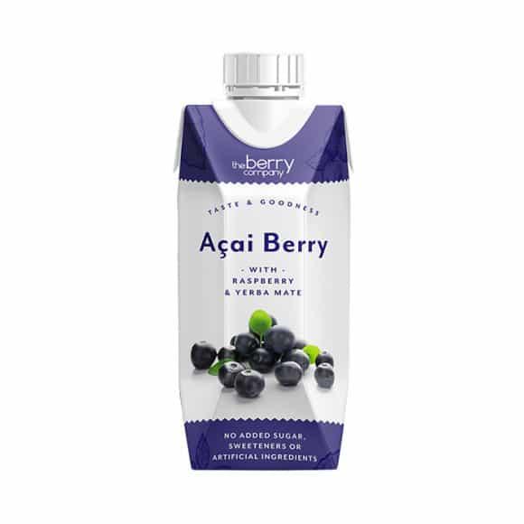 THE BERRY COMPANY - ACAI BERRY 330ML X12